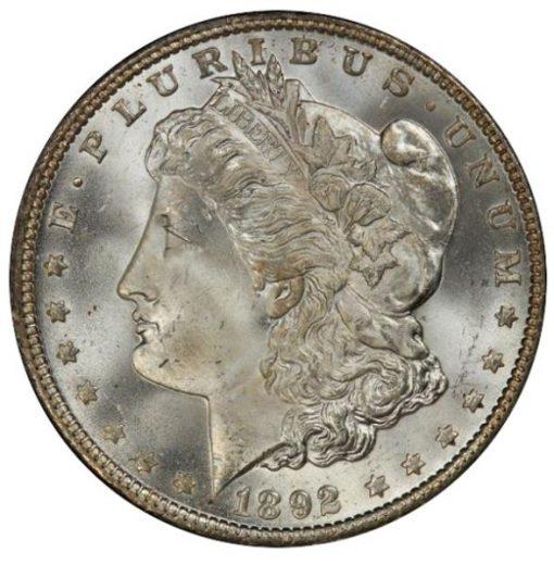 Lot 264 - $1 1892-O PCGS MS65+ CAC