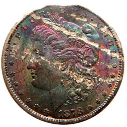 Lot 276 - $1 1878-CC GSA FLAT PACK RAW