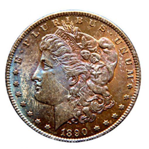 Lot 377 - $1 1890-CC GSA NGC MS64