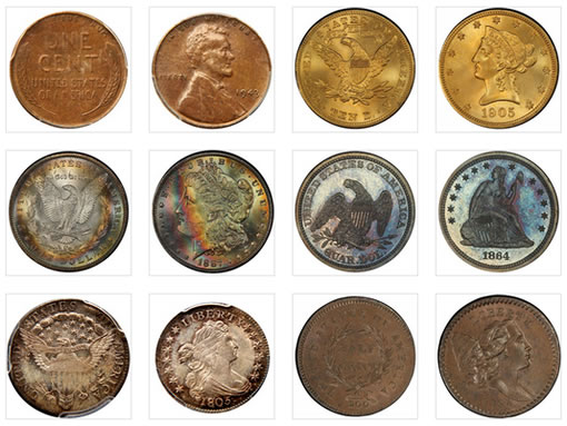 Rare Coins in the Legend-Morphy Regency Auction VII