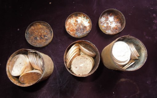 Saddle Ridge Hoard Gold Coins