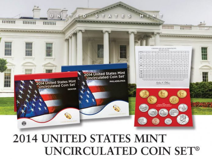 US Mint Promotion Image of 2014 United States Mint Uncirculated Coin Set