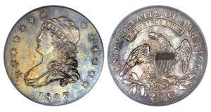 1827/3/2 Capped BuHeritage to Offer Part I of Eugene H. Gardner Collectionst quarter