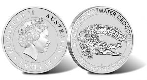2014 Australian Saltwater Crocodile Silver Bullion Coin Sells Out
