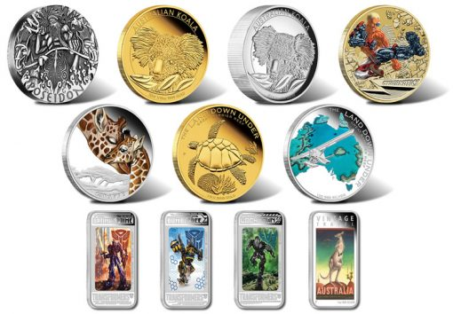 2014 Australian Silver and Gold Coins for June