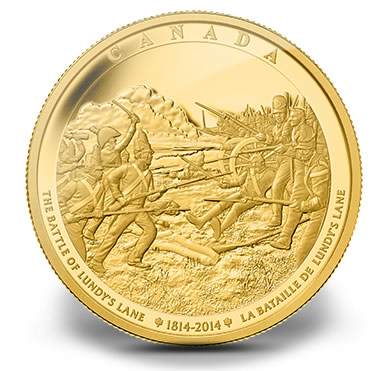 2014 Battle of Lundy's Lane One Kilogram Gold Coin