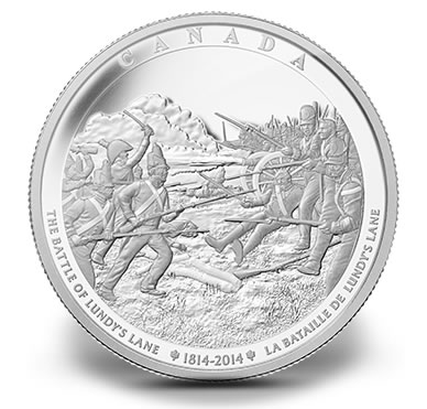2014 Battle of Lundy's Lane One Kilogram Silver Coin