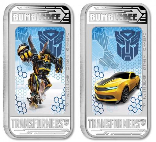 2014 Bumblebee, Transformers 4 Lenticular Coin