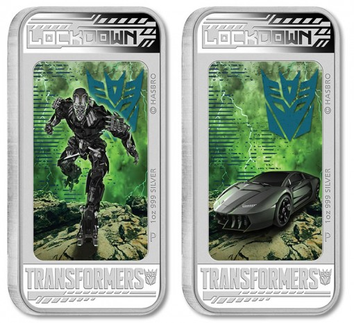 2014 Lockdown, Transformers 4 Lenticular Coin