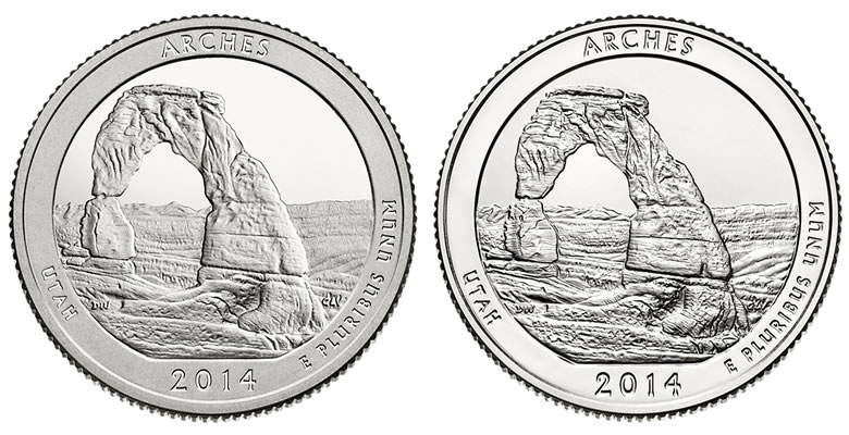 2014 Arches Quarters Three-Coin Set Available | Coin News