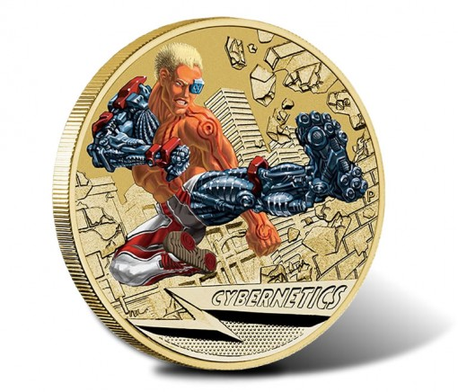 2014 Young Collectors Superpowers Cybernetics $1 Coin