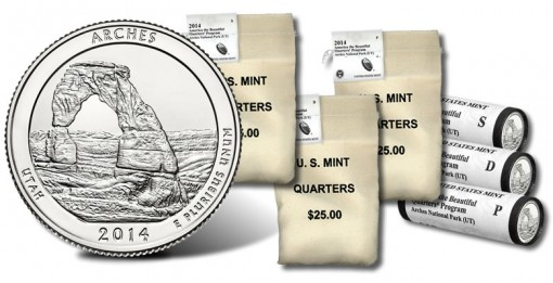 Arches National Park Quarter - Bag and Roll Products