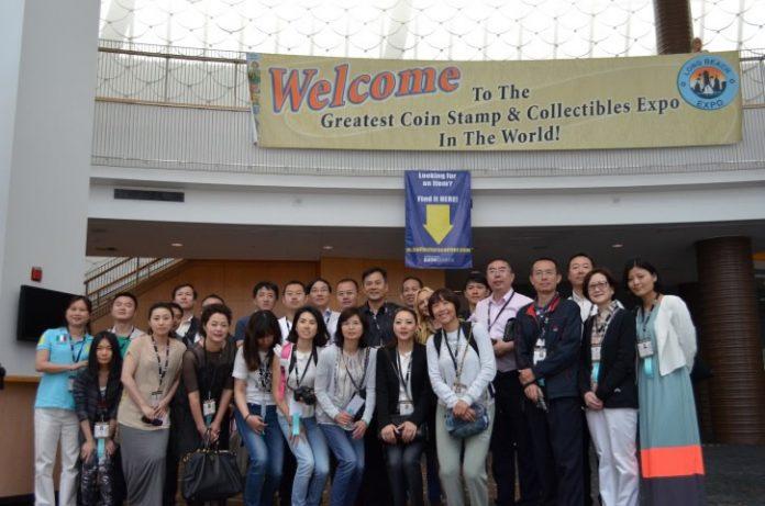 China visitors June 2014 Long Beach Expo