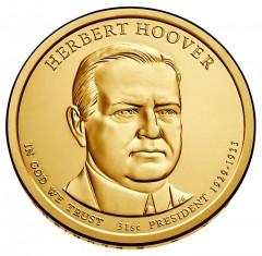Herbert Hoover Presidential $1 Coin