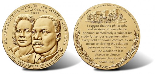 Martin Luther King, Jr. and Coretta Scott King Bronze Medal