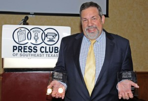 Michael Fuljenz Presented Press Club Awards
