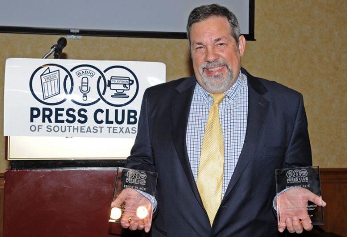 Mike Fuljenz, Press Club awards