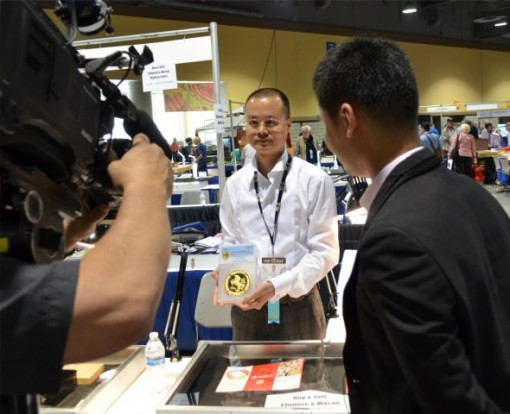 Mr. Chen Haomin and KABC at 2014 Long Beach Expo