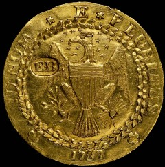 Rare 1787 Brasher Doubloon at ANA World's Fair of Money