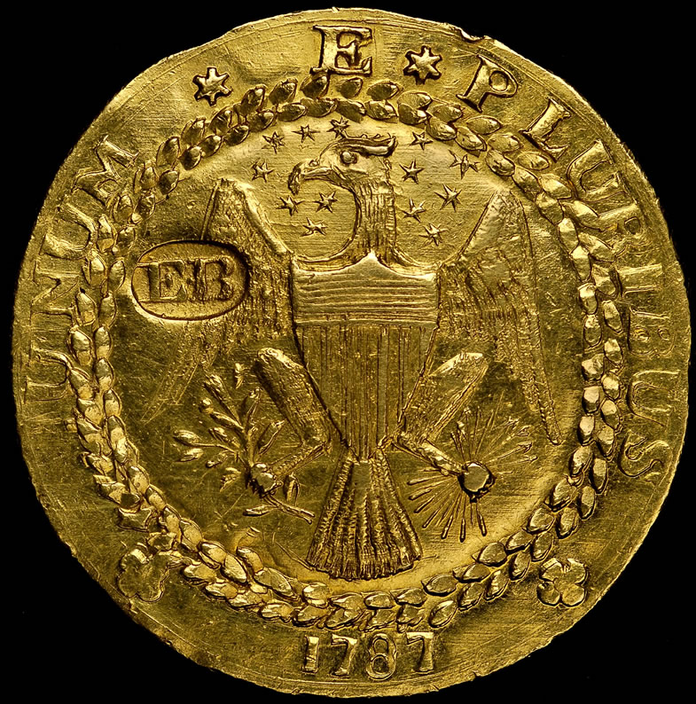 Rare 1787 Brasher Doubloon At Ana World S Fair Of Money