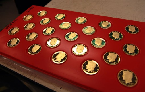 1964-2014 Proof 50th Anniversary Kennedy Half-Dollar Gold Coins