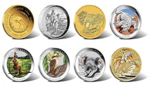 2014 Australian Silver and Gold Coins for July