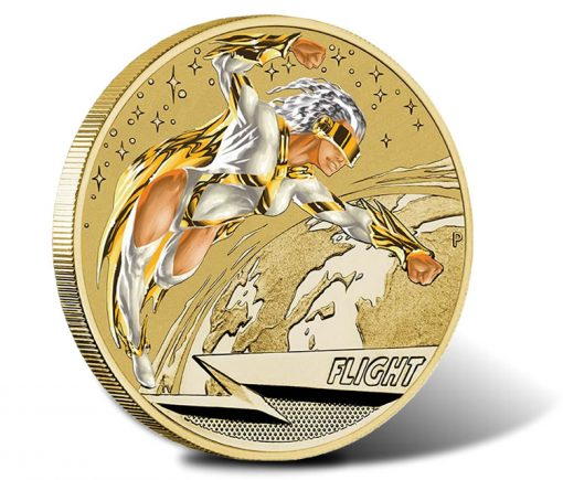 2014 Young Collectors Superpowers Series Flight $1 Coin