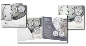 2014 Kennedy Half-Dollar Uncirculated Coin Set for Semicentennial
