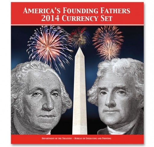 America's Founding Fathers 2014 Currency Set