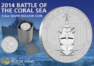 Perth Mint's Battle of the Coral Sea Silver Bullion Coin Debuts