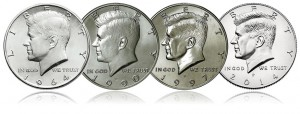 1964 Kennedy Portrait Returns for 2014 50th Anniversary Coins