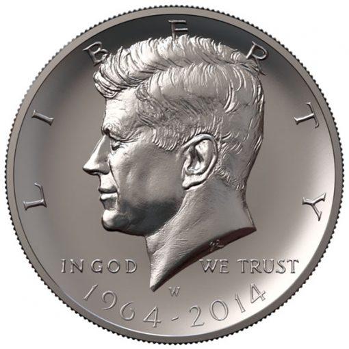 Concept render of the restored Robert's half-dollar design