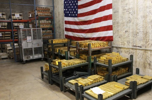Gold and Silver Bullion Bars at West Point Mint