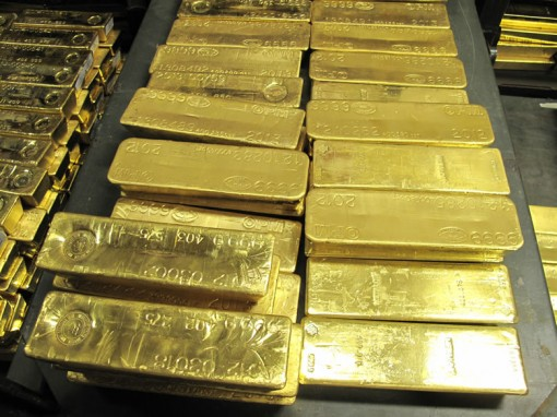 Gold at West Point Mint, Close-Up