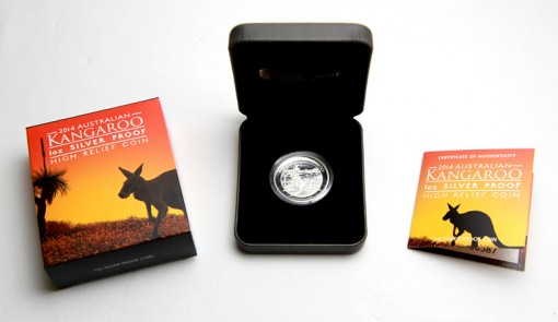 Illustrated Shipper, Coin and Presentation Case, and folded Certificate of Authenticity