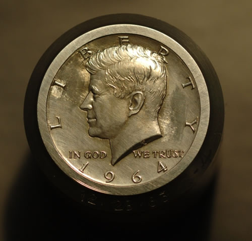 Original Die for the 1964 Kennedy