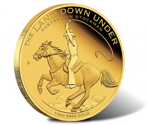 2014 Australian Stockman Gold Coin - Land Down Under Series