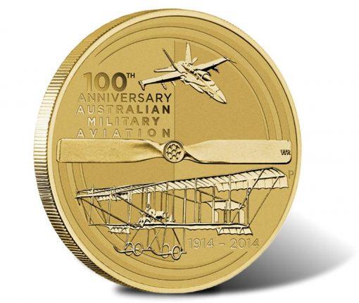 2014 Centenary of Military Aviation Coin