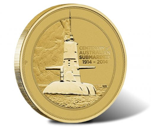2014 Centenary of Military Submarine Coin