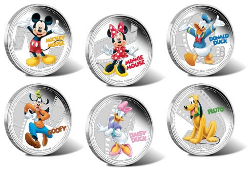 2014 Disney Mickey and Friends Collectible Coins