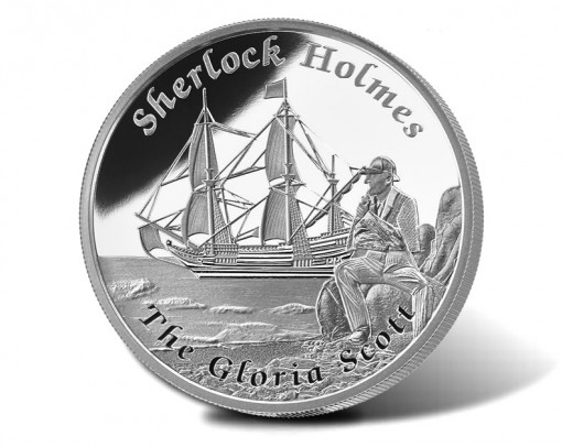 2014 Gloria Scott 1 Oz Silver Proof Coin