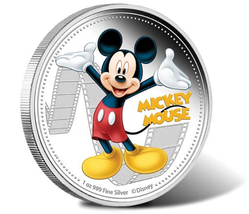 2014 Mickey Mouse Silver Coin