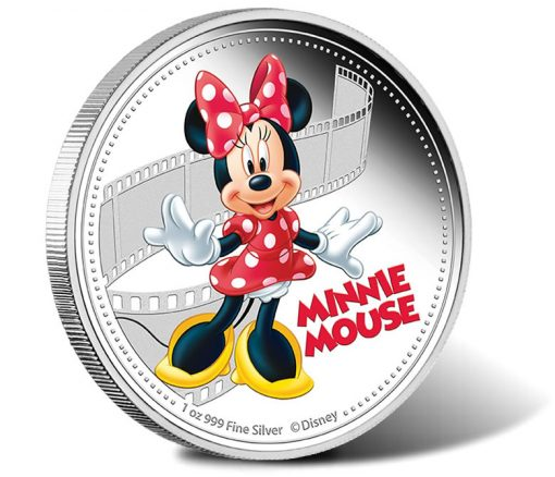 2014 Minnie Mouse Silver Coin