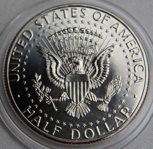 2014-P Uncirculated 50th Anniversary Kennedy Half-Dollar - Reverse
