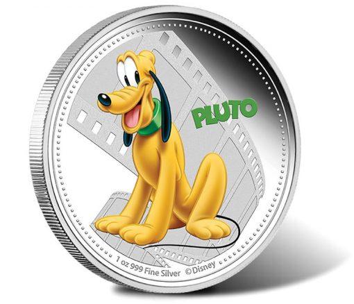 2014 Pluto Silver Coin