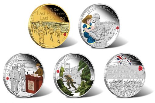 ANZAC Spirit 100th Anniversary Coins