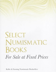 Cover of Kolbe & Fanning Catalog of Fixed Price Numismatic Books