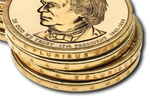 Edge-incused inscriptions of dollar coins