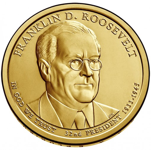 Franklin D. Roosevelt Presidential $1 Coin