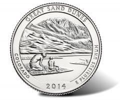 Great Sand Dunes 5 Oz Silver Bullion Coins Open at 3,400